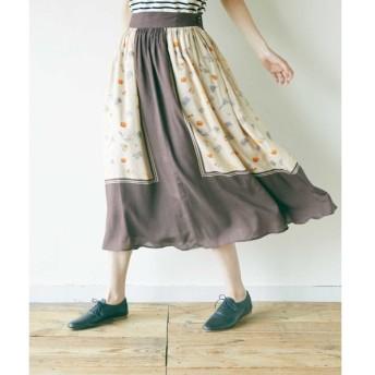 [マルイ] タックギャザースカート(La boulangerie タックギャザースカート)/ニーム(NIMES)