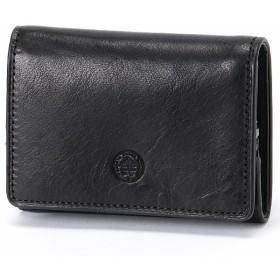 [マルイ] キー収納ポケット付き コンパクト三つ折り財布/ダコタ ブラックレーベル(Dakota BLACK LABEL)