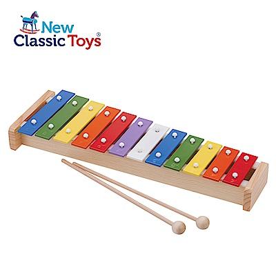 New Classic Toys 幼兒12音彩虹敲敲鐵琴 10218