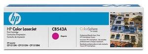 HP CB543A㊣原廠碳粉匣CB543A紅色 適用HP Color LaserJet CP1215/CP1518ni/CM1312nfi彩色雷射印表機 ◆電話訂購專線:02-28943045