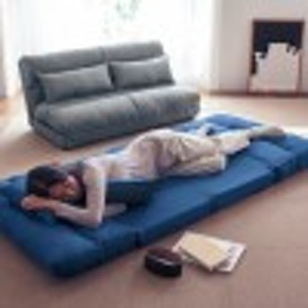 サイズが選べるクッション付きソファーベッド