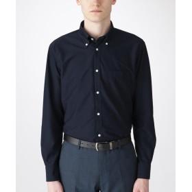 【35%OFF】 ブルーレーベル ブラックレーベル クレストブリッジ ジャージーソリッドボタンダウンシャツ メンズ ネイビー L 【BLUE LABEL BLACK LABEL CRESTBRIDGE】 【セール開催中】