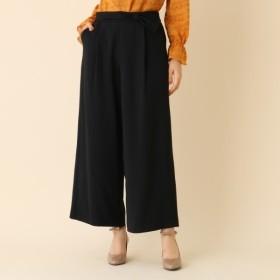[マルイ]【セール】【WEB限定プライス手洗い可】リボンベルトワイドパンツ/クチュールブローチ(Couture Brooch)