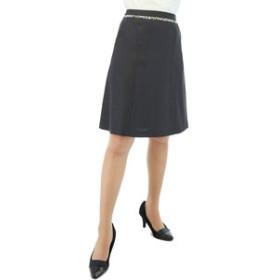 【m.f.editorial:スカート】ホトフレッシュセットアップフレアースカート 紺