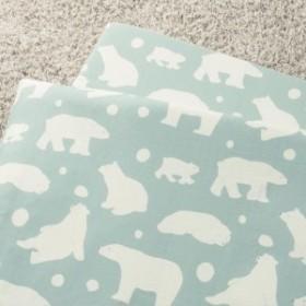 綿100%2重ガーゼのお昼寝布団用カバー[日本製]【保育園】