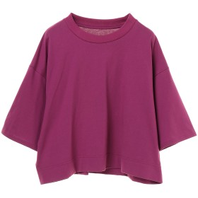 anana スワイ―オーバーショートTシャツ(made in JAPAN) Tシャツ・カットソー,ラズベリー