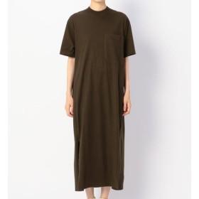 【ビショップ/Bshop】 【unfil】コットンフランネル Tシャツドレス WOMEN