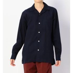 【ビショップ/Bshop】 【Reception】ボーリングシャツ NAVY WOMEN