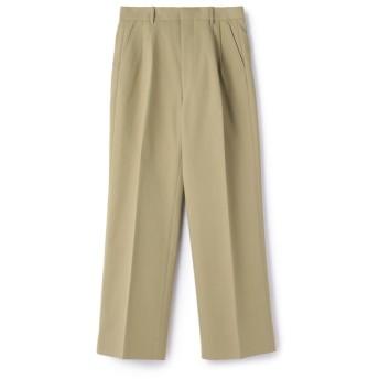 AURALEE / HARD TWIST DOUBLE CLOTH WIDE SLACKS パンツ ベージュ/4(エストネーション)◆メンズ パンツ