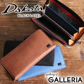 ダコタ Dakota 財布 長財布 BLACK LABEL ブラックレーベル ワキシー ラウンドファスナー メンズ レディース 本革 0625903