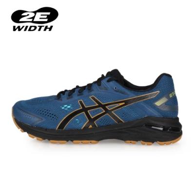 ASICS 男 慢跑鞋-2E GT-2000 7 TRAIL 墨藍黑金
