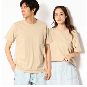 【Purple & Yellow:トップス】<消臭加工> フロッキープリント Tシャツ