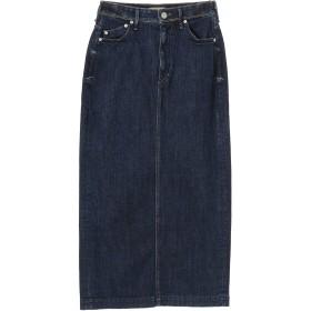 YANUK WOMEN YANUK(ヤヌーク) バックベンツ デニム ロング スカート/57193033 デニムスカート,インディゴ
