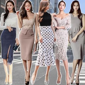 高品質 韓国ファッション OL、正式な場合、礼装ドレス セクシーなワンピース、一字肩 二点セット、側開、深いVネック やせて見える、ハイウエスト半袖ドレス スカート水着結婚式 ドレスリネンワンピース