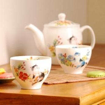 花猫 煎茶 ブルー