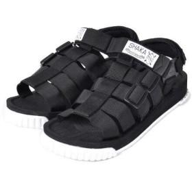 SHAKA シャカ サンダル ラリー RALLY メンズ レディース アウトドア 靴 BLACK/WHITE ブラック系 [SK433103 SS19]