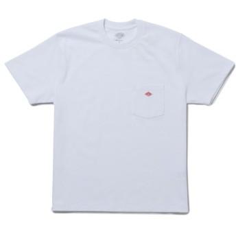 アダム エ ロペ ル マガザン/【ダントン】クルーネックポケットTシャツ/ホワイト/F