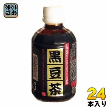 オアシス 黒豆茶 280ml ペットボトル 24本入