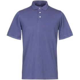 《期間限定セール開催中!》FEDELI メンズ ポロシャツ ブルー 50 コットン 100%