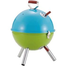 【72%OFF/3色展開】バーベキュー、燻製、蒸し焼きがこの1台で《マルチミニバーベキューコンロ》可愛らしいフォルム&ポップなカラーの個性的なデザイン スポーツ&アウトドア アウトドア バーベキュー用品 ブルー×グリーン au WALLET Market