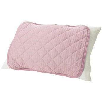 涼感枕パッド(ベーシック) - セシール ■カラー:ピンク ブルー ■サイズ:キルトタイプ(50×40cm)
