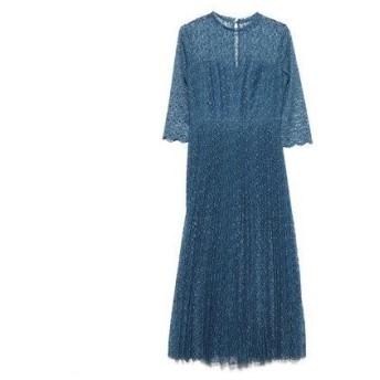 フレイアイディー FRAY I.D レースプリーツドレス (ブルー)