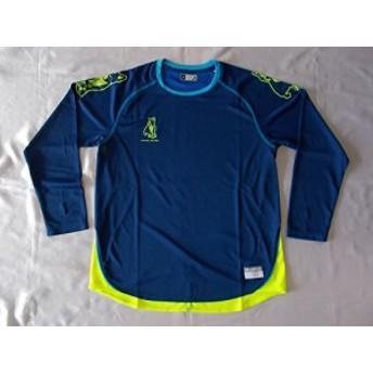 soccer junkyサッカージャンキー 『 知性+5 』ロングプラシャツ Mサイズ SJ16514 [143]ヘザーネイビー