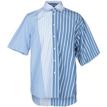 《9/20まで! 限定セール開催中》MARNI メンズ シャツ アジュールブルー 46 コットン 100%