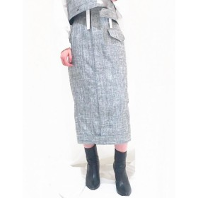 G.V.G.V.(ジーヴィージーヴィー)/TWEED PENCIL SKIRT