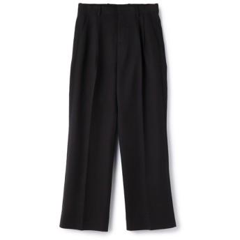 AURALEE / HARD TWIST DOUBLE CLOTH WIDE SLACKS パンツ ブラック/4(エストネーション)◆メンズ パンツ