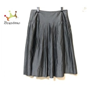 ジユウク 自由区/jiyuku スカート サイズ38 M レディース ダークグレー プリーツ 新着 20190815