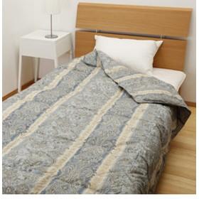 【NISHIKAWA ストア:ベッド・寝具】ホワイトダック90% 0.3kg (シングル)150×210㎝ウォッシャブル羽毛掛け布団 カナディアンナチュラルダウン