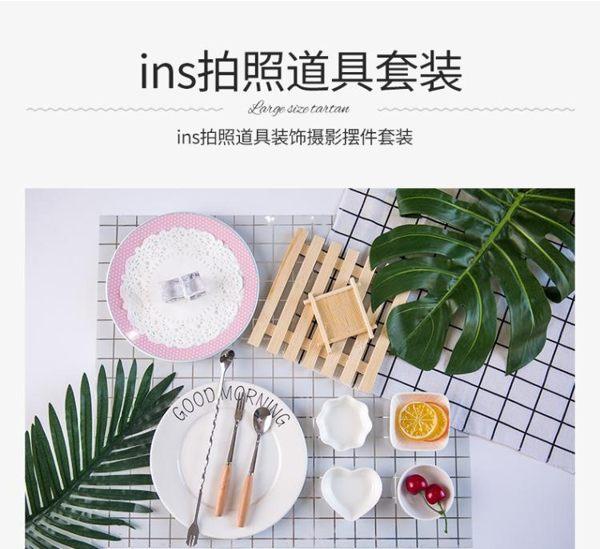 ins拍照道具拍攝背景布化妝品飾品美甲美食復古裝飾攝影擺件套裝 LX 韓國時尚週