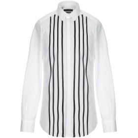 《期間限定セール開催中!》DOLCE & GABBANA メンズ シャツ ホワイト 37 コットン 100%