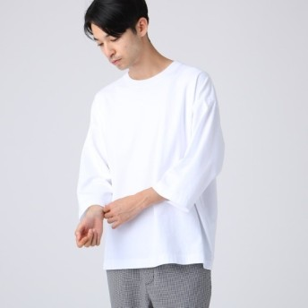 [マルイ] 天竺ビッグシルエットTシャツ(8分袖 )/ティーケー タケオキクチ(tk. TAKEO KIKUCHI)