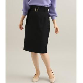 【ビス/ViS】 【EASY CARE】【着丈が選べる】ウォッシャブルフラノタイトスカート