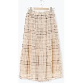 【6,000円(税込)以上のお買物で全国送料無料。】柄アソート消しプリーツスカート