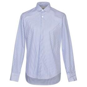 《セール開催中》CORELATE メンズ シャツ ブルー M コットン 100%