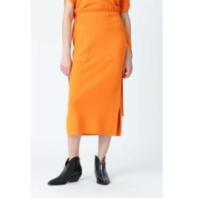【ADORE:スカート】コットンシルクタイトスカート
