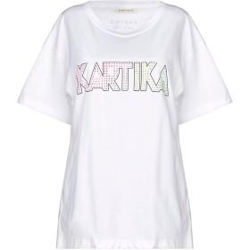 《セール開催中》KARTIKA レディース T シャツ ホワイト S コットン 100%
