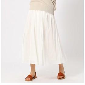 【COMME CA ISM:スカート】コットン ギャザースカート