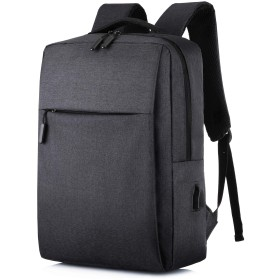 15.6イUSB ポートバックパック 搭載 防水 ンチPC対応 大容量35L 最新型 多機能ビジネスリュック 通勤 通学 出張 旅行 メンズ レディース 兼用おしゃれカバン (ブラック)