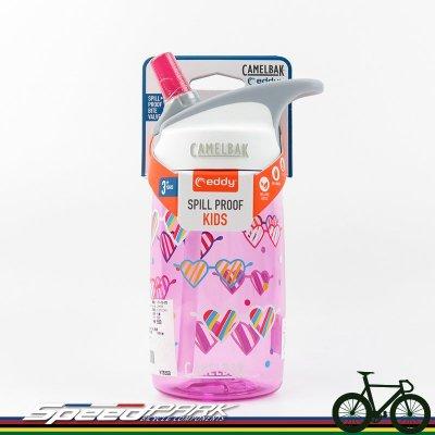 【速度公園】CAMELBAK EDDY 兒童吸管運動水瓶 400ml『愛心眼鏡』/運動水壺 CB1579603140