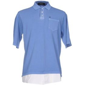 《期間限定セール開催中!》DSQUARED2 メンズ ポロシャツ ブルーグレー XS コットン 100%