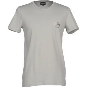 《期間限定 セール開催中》GIORGIO ARMANI メンズ T シャツ ライトグレー 54 コットン 100%