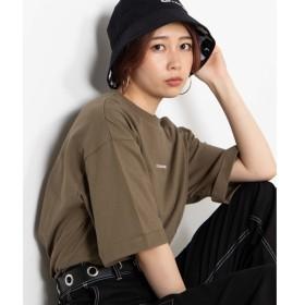 [マルイ]【セール】ショルダーロゴテープTシャツ/ウィゴー(レディース)(WEGO)
