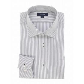 [マルイ] 形態安定レギュラーフィット ワイドカラー長袖シャツ/タカキュー(TAKA-Q)