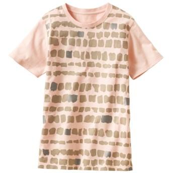 50%OFF【レディース】 プリントTシャツ(S-5L・綿100%) - セシール ■カラー:R ■サイズ:S