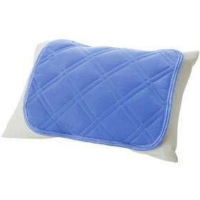 ひんやり枕パッド(スマートドライ) - セシール ■カラー:ブルー グレイッシュグリーン ラベンダー ■サイズ:キルトタイプ(50×40cm)