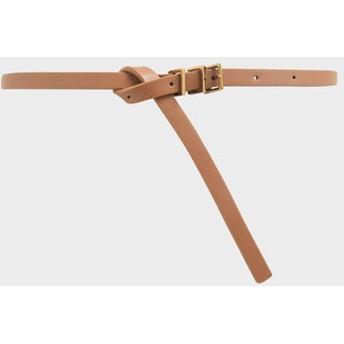 スキニーベルト / Skinny Belt (Tan)